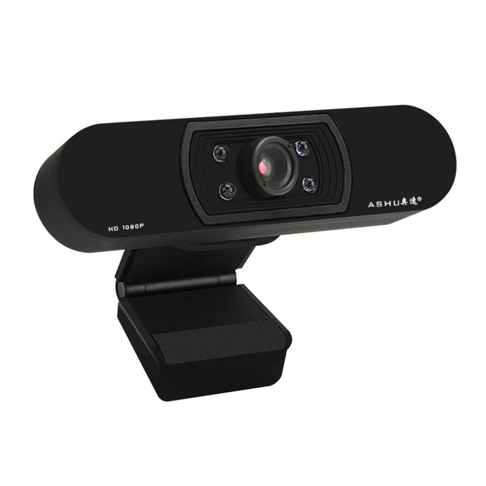 HD 1080P USB Webcam with Autofocus and 5 Layer Optical Lens for Desktop/Laptop 15