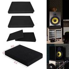 Stands Acoustic Foam Most-Speaker Two Plates Isolation-Pads Fits Sound-Treatment Pair