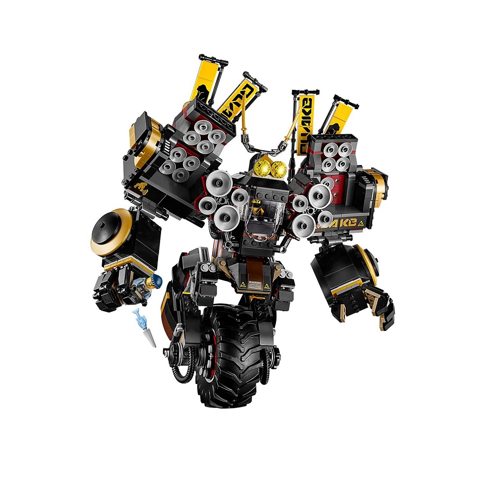 Ninjagoe Movie Bricks 1232pcs Building Blocks Quake Mech toys for Childrens gift image