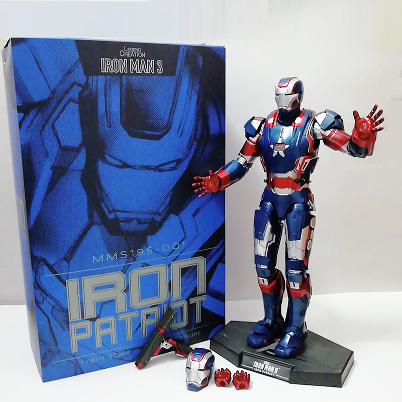 12inch 30cm 2019 New HC MMS195 Iron Man Avengers PVC Action Figure Collectible Model Toy Gift For Christmas