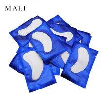 20/50 пар патчей для наращивания ресниц под глазные накладки бумажные патчи розовые безворсовые наклейки для накладных ресниц