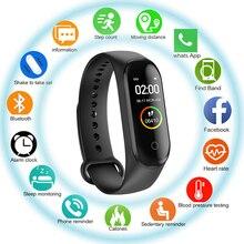 Smart Band Fitness M4 Sport Bracelet Pedometer Heart Rate Blood Pressure Bluetooth Health Check Sleep Waterproof Smartband