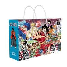Аниме One piece luffy lucky bag, Подарочная сумка, коллекционная сумка, игрушка включает в себя открытку, постер, наклейки, визитки, рукава, подарок