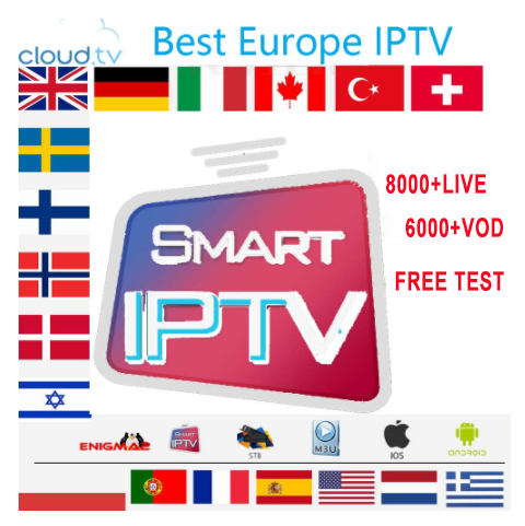 Spain 1 Year Iptv Subscription Premium 9000 Channels Adult Full HD Spain Local Live VOD IPTV Espa A M3u  Smart Tv Free Test Xxx