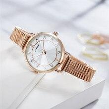 SINOBI New Fashion Women Luxury Diamond Watches Elegant Wome