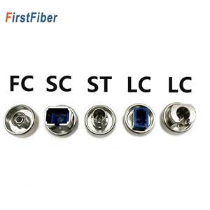 Image 1 - OTDR transfer connector FC ST SC LC adaptor OTDR Fiber Optic Connector For Optical Time Domain Reflectometer Fiber Adapter