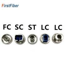 OTDR transfer konektörü FC ST SC LC adaptörü OTDR Fiber optik konnektör için optik zaman etki alanı Reflectometer Fiber adaptör