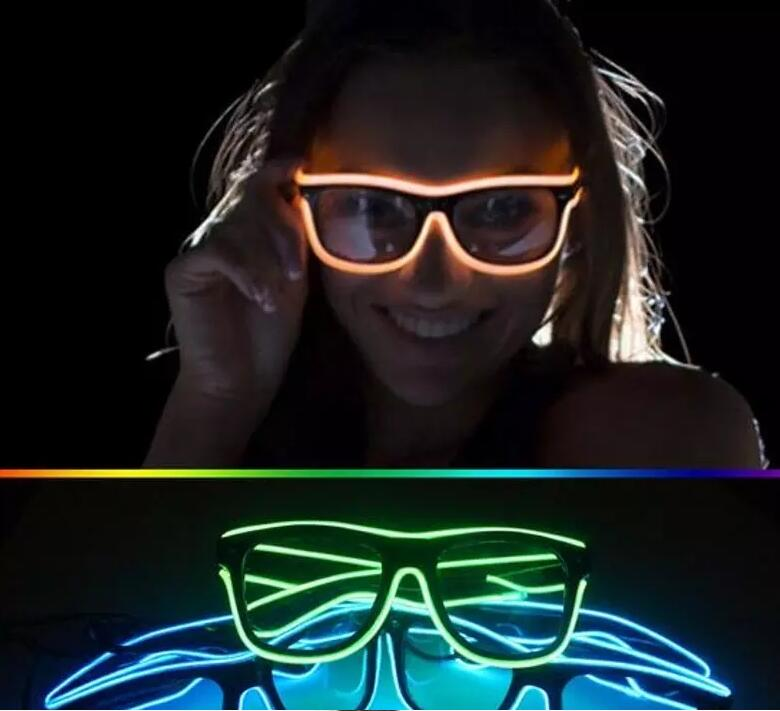 3 Modes Quick Flashing El Led Glasses Luminous Party Lighting Colorful Glowing Classic Toys For Dj Bright Light Holiday Gift