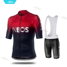 Pro Team Bike Uniform Ineos Cycling Clothing Jersey Set Men Short Sleeve Suit Racing Wear Clothes Ropa Ciclismo Maillot