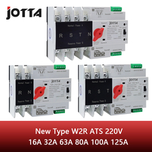 Jotta W2R-2P/3P/4P 16A 32A 63A 80A 100A 125A 220V ATS Automatic Transfer Switch Electrical