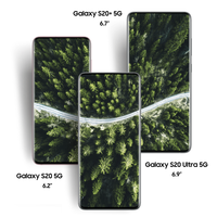 Original New Samsung Galaxy S20 5G|S20+ 5G|S20 Ultra 5G 6.2/6.7/6.9 Display 64/108MP 30x/100x Zoom Camera Android Smartphone