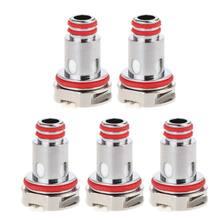5 cabeça 0.3/0.4/0.6/1/1.2Ω da bobina do metal das bobinas da substituição dos pces para o acesso do atomizador do tanque do atomizador do tanque da série do rpm mtl/malha/triplo/sc/quartzo