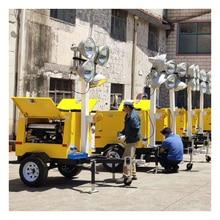 Multifunctional Engineering Mobile Lifting Lighting Vehicle Emergency Lighting Vehicle