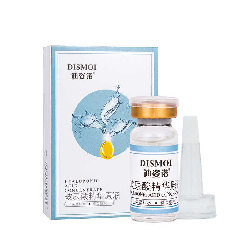 Hyaluronic Acid Shrink Pore เซรั่ม Anti-Aging Moisturizing Anti Wrinkle Whitening Essence Cream ผิวแห้ง 10ml