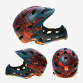 Детский велосипедный шлем детский MTB шлем со светодиодным задним светом EPS PC горный дышащий велосипедный шлем твердое защитное оборудовани...