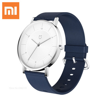 Xiaomi Mijia Luxury Men's Quartz Watch Life Waterproof With Genuine Leather Band Sports Watches Male Clock Business Wrist Watch