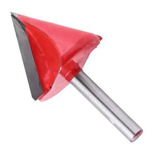 Image 5 - 5 pces (60 deg + 90 deg + 120 deg) Shank 6mm largura 22/32mm, cnc gravura 3d v groove roteador bit, conjuntos de ferramentas de cortador de madeira