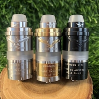 BEST Kronos 2 S rta e-cigarette 23mm adjustable airflow for MTL or DL 4.0 ml Topfill tank 360 ° shield 316ss Atomizer vape