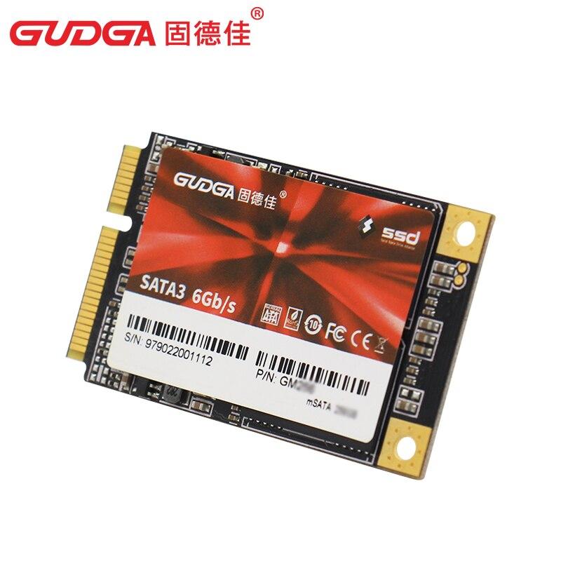 GUDGA mSATA SSD katı hal diski SATA III 64GB 32GB 256GB 128GB 512gb 1tb 2TB ssd sabit disk laptop notebook için masaüstü