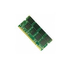Para ddr 1-10 pces 1gb ddr pc2700 333mhz 200pin dimm portátil ram kit memória lote