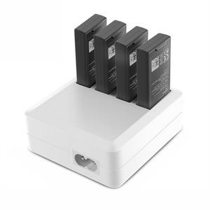 Image 1 - Concentrador de carga de batería múltiple para Dron, cargador Tello para DJI Tello EDU, Batería de Vuelo Inteligente de 1100mAh, carga rápida, enchufe US/EU