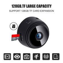 A9 mini câmera ip wifi 1080p/720p de segurança sem fio controle remoto monitoramento noite vising câmera detecção movimento do bebê cheio h d