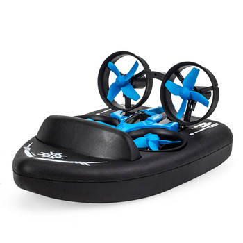 Upgraded H36 JJRC H36F Terzetto 1/20 2.4G 3 In 1 RC Vehicle Flying Drone Land Driving Boat Quadcopter Model Toys RTR VS E016F