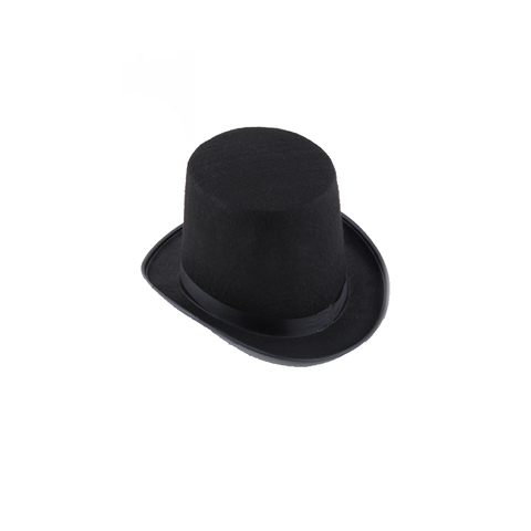 13/16cm Folding Top Hat Magic Trick Stage Prop Magicians Hat Masquerade Party Stage Accessories Islamabad