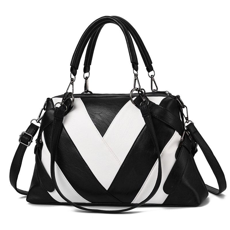 YK-Leik Pu Leather Bag Large Women Leather Handbags Famous Brand Women Messenger Bags High Quality Big Ladies Shoulder Bag New