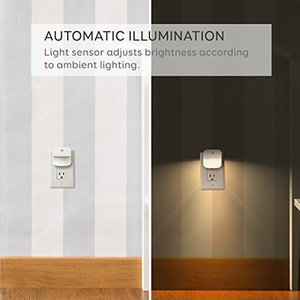 Image 4 - Plug in night light with Sensor Wireless Energy Saving Lighting children Living Room Bedroom safe convinent warm white Wall Lamp