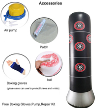 0.32mm Heavy Punching Bag,Inflatable Free Standing Bag,Children Fitness Play Adults De-Stress Boxing Target Bag