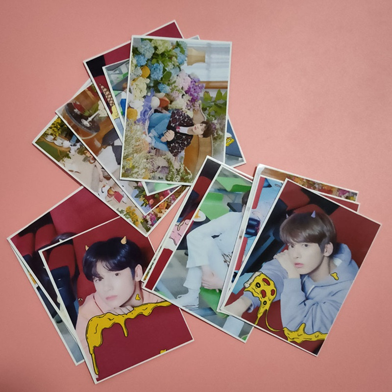 16Pcs/Set KPOP TXT The Dream Chapter Album LOMO Cards K-POP New Fashion Made Paper Photo Card Photocard