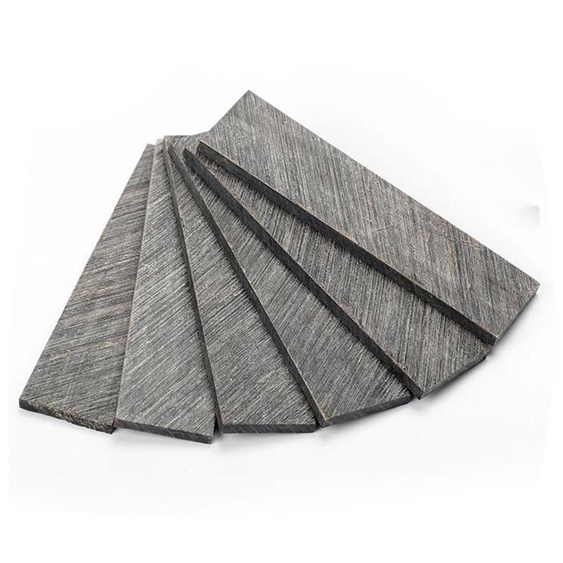 2,3,4,5,6,7,8 мм толщина черный рог буйвола фрагмент плиты рукоятки ножа, прокладки, вставками, резьбой, crafts-1piece