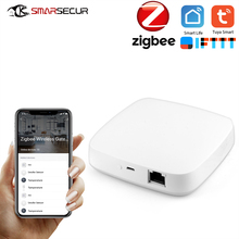 Tuya Zigbee Wired Gateway Hub Smart Home Device Support add APP Gateway Smart Light Control ZigBee banana pi g1 gateway bpi g1 smart home control center on board wifi bluetooth zigbee open source development board