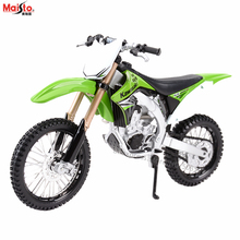 Maisto 1:12 Kawasaki KX450F Alloy motorcycle car model collection gift toy tool