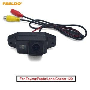 FEELDO 1Set Car Rearview Camera Backup Camera For Toyota/Prado/Land/Cruiser 120 Reverse Parking Camera #AM1651