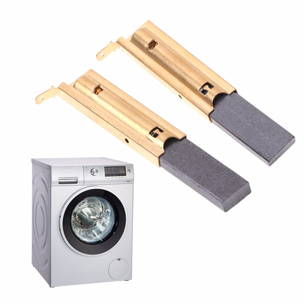 2Pcs/set Washing Machine Motor Carbon Inserts Brushes L94MF7 For Siemens 5x13.5 10166