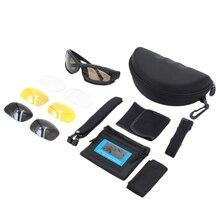 Goggles Sunglasses Men Polarized Sunglasses Male 4 Lens Kit