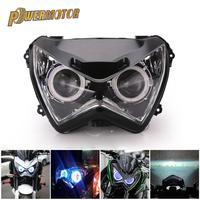 Motorrad Scheinwerfer Montage Scheinwerfer Kopf Licht Lampe für Kawasaki Z800 z250 2013 2014 2015 2016 Motor Zubehör| |   -
