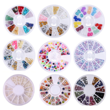 AY New Mixed Color Nail High Quality Rhinestones Stones Makeup Beauty Decoration