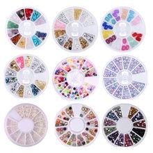 Новинка разноцветные камни для ногтей ay высокого качества Стразы