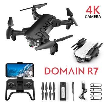 Hipac-Mini Dron plegable con cámara 4K para niños. R7, Drone cuadricóptero con...