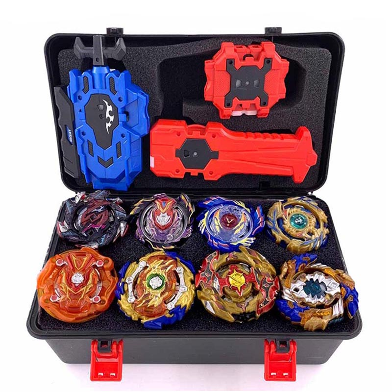 Beyblade Burst Bey Blade Toy Metal Funsion Bayblade Set Storage Box With Handle Launcher Plastic Box Toys For Children