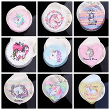 Custom Unicorn Patch Sequin Patches Reversible Change Color Cartoon For Clothing Sewing On DIY Applique Clothes