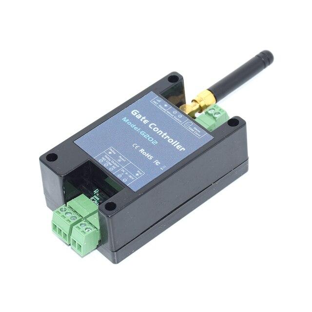 Gsm 3 グラムゲートオープナーG202 リモコンシングルリレースイッチスライドさせるためのスイングガレージゲートオープナー (置換RTU5024 g200)