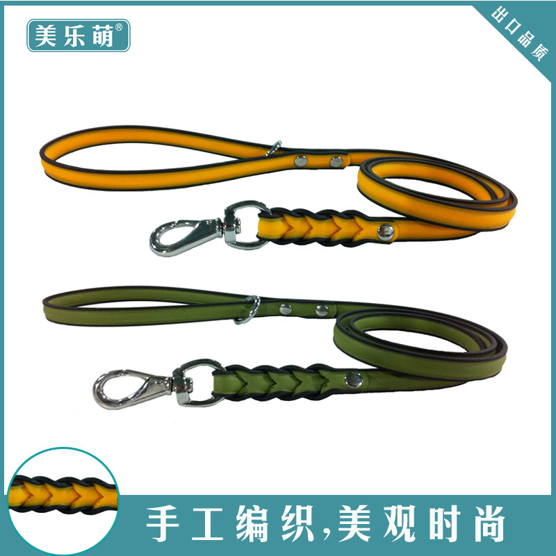 Hot Selling Hot Selling Pet Supplies PVC Waterproof Daily Use Dog Hand Holding Rope Neck Ring Factory Price