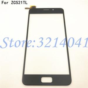 "Image 1 - 100% اختبار جديد 5.2 ""ل Asus Zenfone 3S Max ZC521TL X00GD محول الأرقام بشاشة تعمل بلمس اللوحة الزجاجية الأمامية قطعة بديلة لمستشعر"