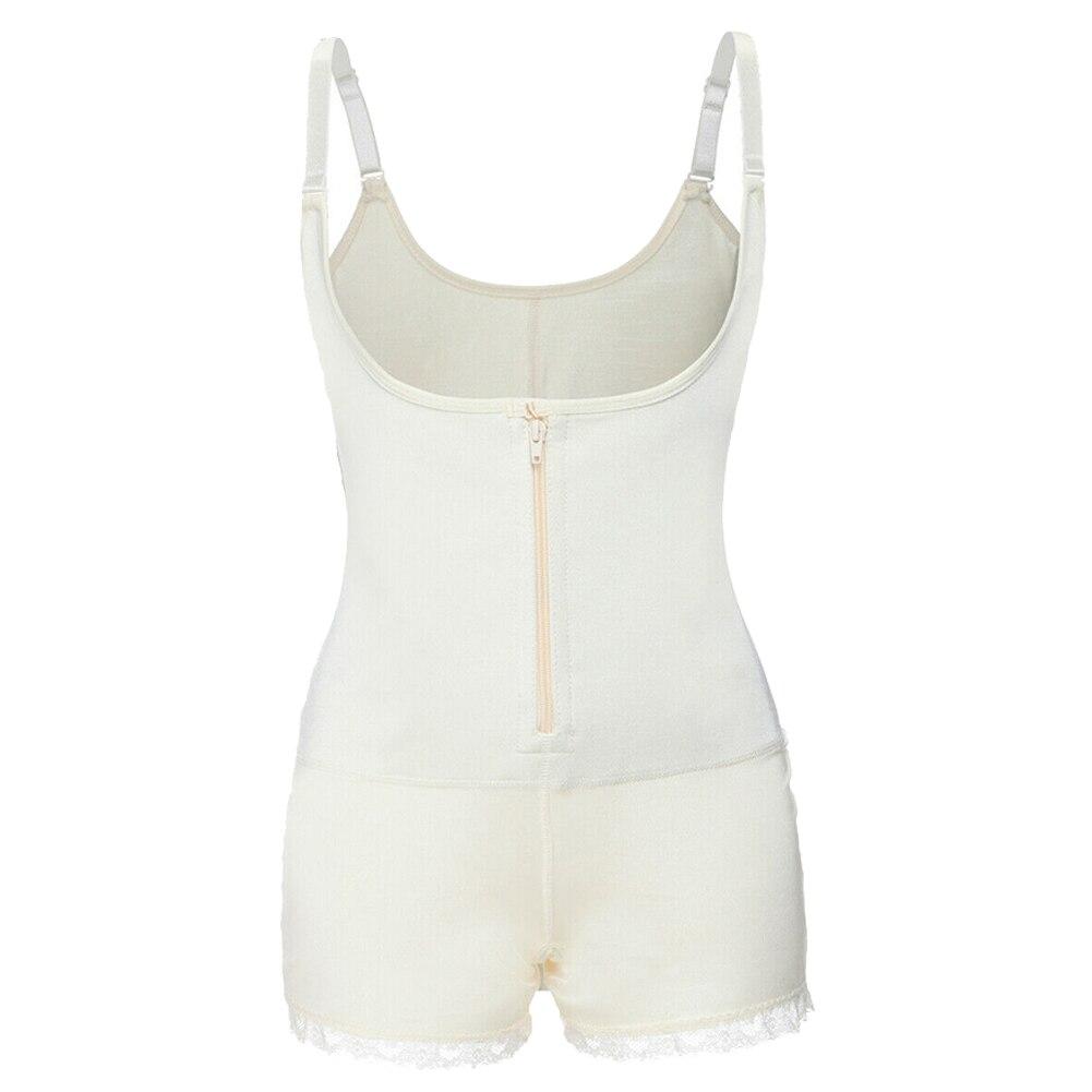Женский пояс для похудения, форма тела, одежда для хирургии после парто, слинг, пуш-ап, форма тела, строение, ZJ55 - Цвет: Белый
