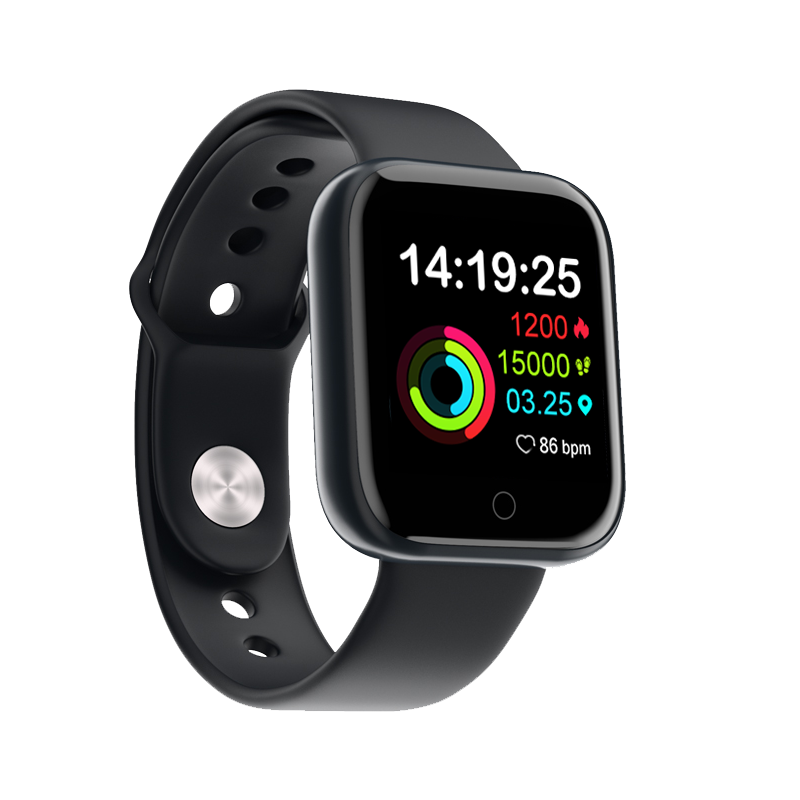 2019 I5 Smart Bracelet Band With Heart rate Monitor ECG Blood Pressure IP68 Fitness Tracker Wrisatband Smart Watch for iphone