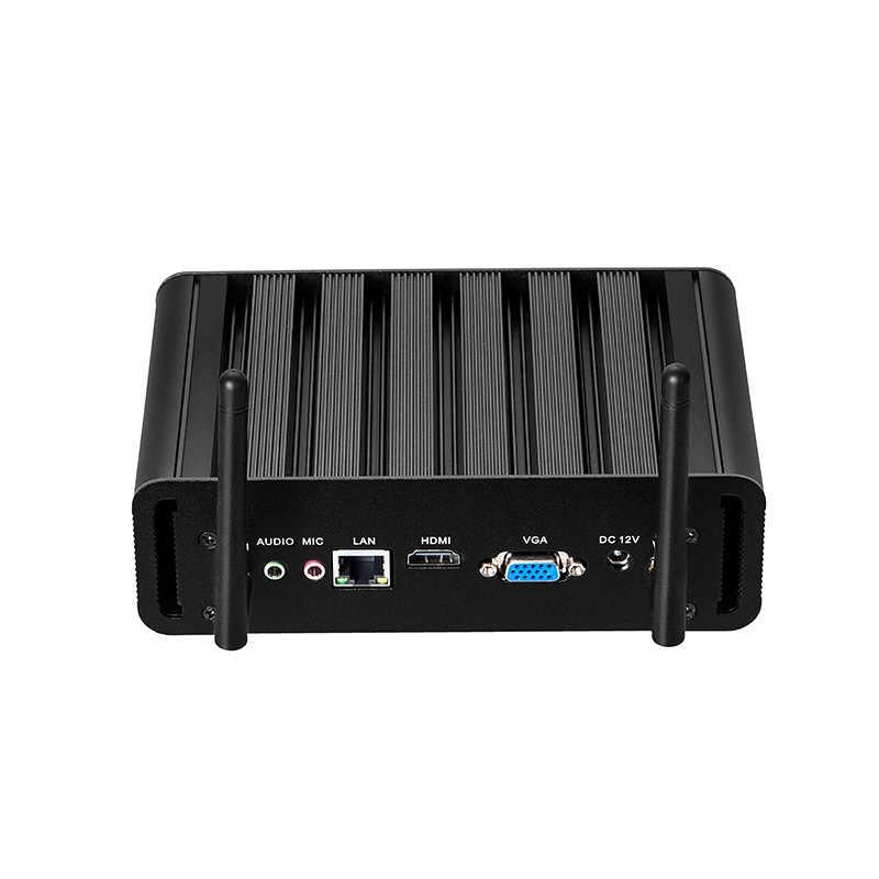 Mini Pc Intel Core I7 7500U I5 7200U I3 7100U Windows 10 4K Htpc Gigabit Ethernet 300M Wifi hdmi Vga 2 * USB3.0 4 * USB2.0 Nettop